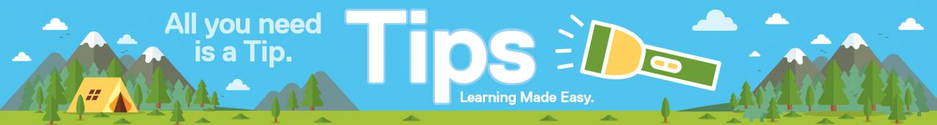 Tips camping banner3